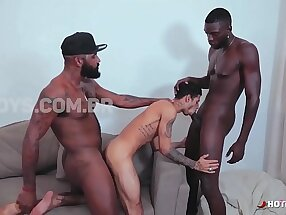 Trio Hot Interracial
