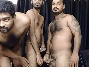Tamil gay king amar group sex with his friends