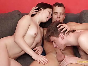 bisexual threesome mmf