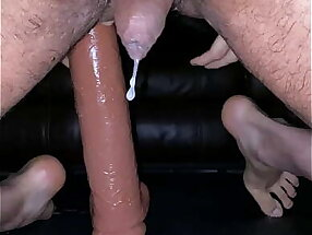 King Cock 15 Squirting and Multiple Hands Free Cumshot