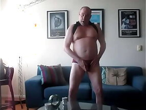 Horned To Stroke A Big, Fat Nutt Out.