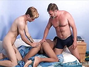 Brothers Get Caught By Dad And Get Punished