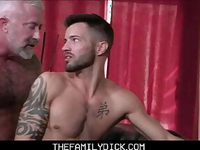 Twink Grandson Casey Everett Fucked By His Hot Grandfather Lance Charger