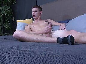 ActiveDuty - Tall, Slim Amateur's First Time On Camera