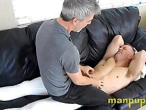 Tickling Lazy Roommate - Alrik Angel - Richard Lennox - Manpuppy