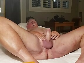 Nudist Crotch, Spread Open and Exposed