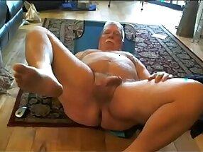 Dad Spread Eagle Naked