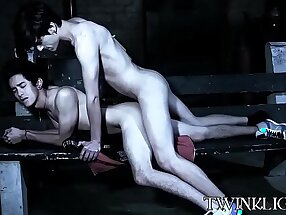 Sad young man consoled with wet cocksucking and analpounding